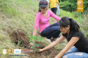 Campaña de Forestación sobre Carretera a Chalatenango