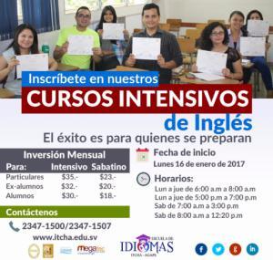Cursos Intensivos de Inglés, Escuela de Idiomas