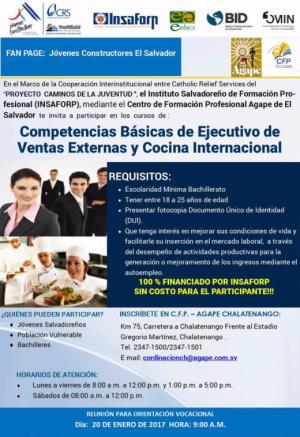 Curso de Ejecutivos de Ventas Externas y Cocina Internacional