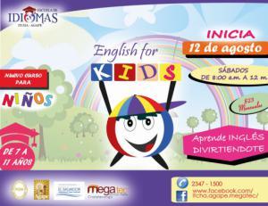 Nuevo Curso en Inglés para Niños y Niñas