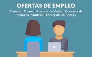 Ofertas de Empleo en Chalatenango, agosto 2017