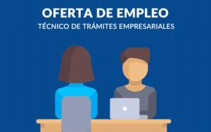 Empleo - CONAMYPE busca Técnico de Trámites Empresariales