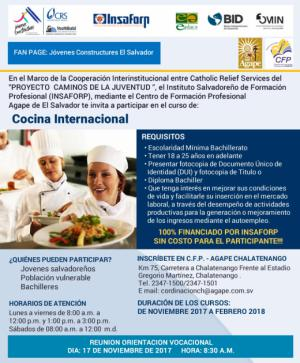 Curso de Cocina Internacional