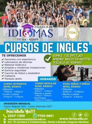 Nuevos cursos de Inglés en abril de 2018!