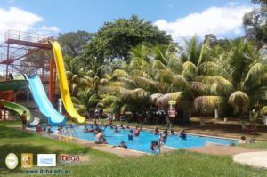 Excursión al Parque Acuático Agape 2018, estudiantes de 1er año