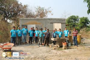 Construcción de viviendas en comunidades de Chalatenango 2018
