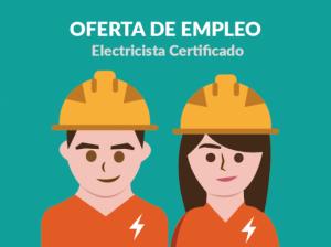 Oferta de empleo, buscamos electricista acreditado por INSAFORP
