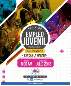 Feria de Empleo Juvenil Chalatenango 2018