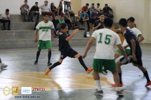 Cuadrangular de futsal: ITCHA, UMOAR, UNAB y Agua Caliente