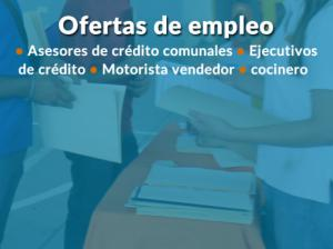 Ofertas de empleo, recepción de currículos en ITCHA-AGAPE