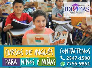 Nuevos cursos de inglés para niños y niñas