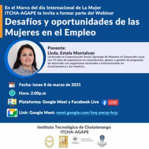 Webinar Desafíos y oportunidades de las Mujeres en el Empleo