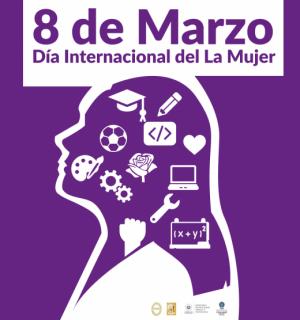 Conmemoración del Día Internacional de La Mujer, marzo 2021