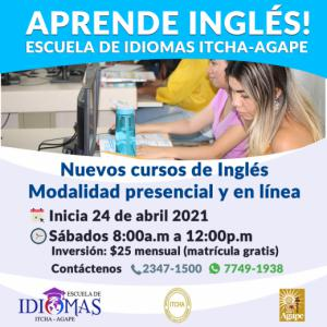Aprende inglés en nuestra Escuela de Idiomas