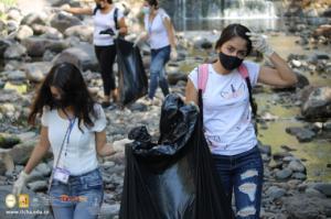 Jornada de Limpieza en el Río Tamulasco en el Día de La Tierra