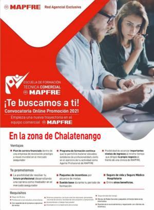 Oferta de Empleo - Empresa MAPFRE en Chalatenango