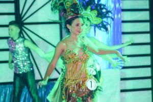 Reina ITCHA-AGAPE en las Fiestas Dicembrinas Chalatenango 2016