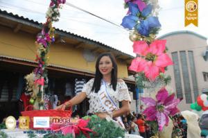 Desfile del Correo de las Fiestas Dicembrinas, Chalatenango 2016