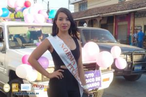 Reina de ITCHA-AGAPE en la XXXIX Verbena de Chalatenango - 2017