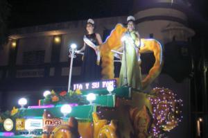 Desfile del Correo en Fiestas Dicembrinas Chalatenango 2017