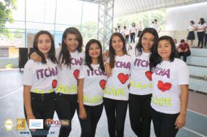 Concurso de baile en las Fiestas Patronales de Chalatenango 2018