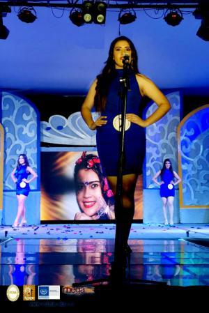 Reina ITCHA-AGAPE en las Fiestas Dicembrinas de Chalatenango 2018