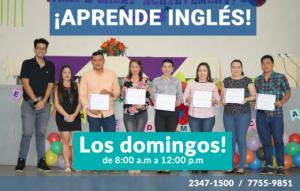 Nuevos cursos de Inglés en Marzo 2019 ¡los días domingos!