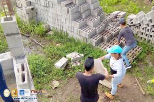 Construcción de viviendas en comunidades de Chalatenango - 2019