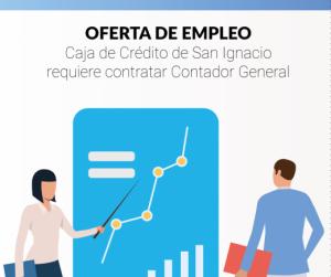 Oferta de Empleo: Contador para la Caja de Crédito San Ignacio