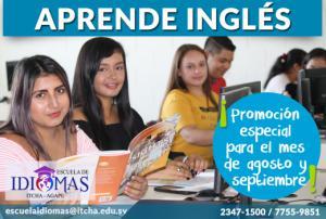 Nuevos cursos de Inglés en agosto 2019 ¡Consulta la promoción!