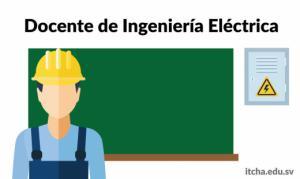 Trabaja con nosotros! buscamos docente de Ingeniería Eléctrica