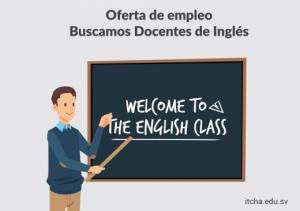 Únete a nuestro equipo! buscamos docentes de Inglés