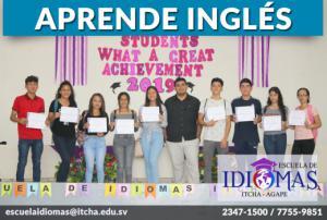 Aprende Inglés, únete a nuestra Escuela de Idiomas